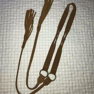 American Eagle Tie Belt